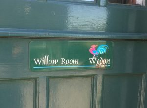 Willow room door