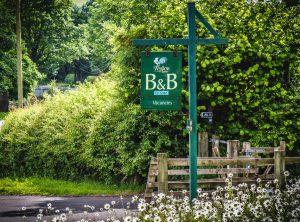 Stay at Wydon Farm B&B