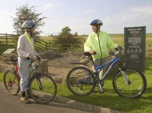Cyclists at Sikes Turret near Banks, Cumbria © gramme-peacock.com
