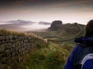 Hadrian's Wall, near Housesteads Fort